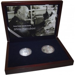 17. listopad 1989 25. výročí Sada stříbrné mince a medaile 2014 Proof_