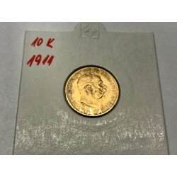 10 koruna 1911 ST.SCHWARTZ