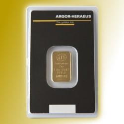 Zlatý slitek Argor Heraeus 5g