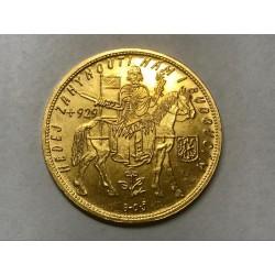 Zlatá mince Svatováclavský 5 Dukát 1933