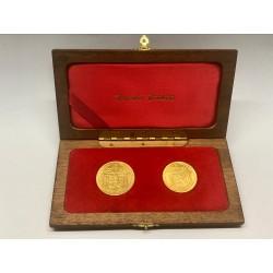 Sada zlatých dukátů Jsem ražen z českého kovu 1973 ARTIA