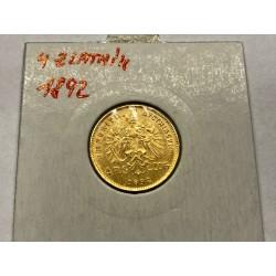 10 koruna 1906 - BZ