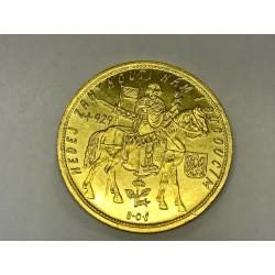 Zlatá mince Svatováclavský 10 Dukát 1933