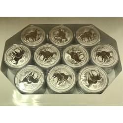 50 x Investiční stříbrná mince 2 Oz