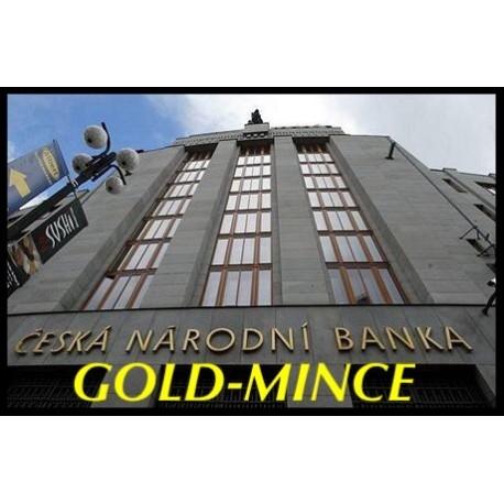 Kompletní zlaté mince proof Městské památkové rezervace