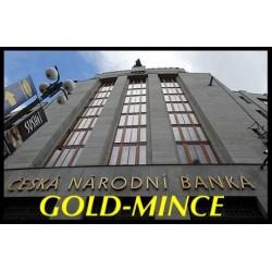 Kompletní zlaté mince standard Městské památkové rezervace