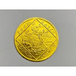 Jsem ražen z českého kovu 4 dukátová medaile