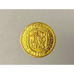 Zlatá mince Svatý Václav Jednodukát Československý 1930