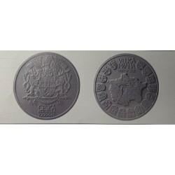 Založení Velké Prahy 100 let stříbrná 1 kg mince