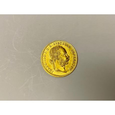 Zlatý investiční dukát 1915 UNC