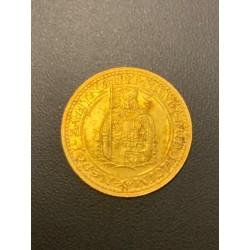 Zlatá mince Svatý Václav Jednodukát Československý 1931