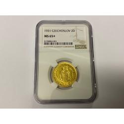 Zlatá mince Svatováclavský Dvoudukát 1932 stav 0/0