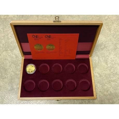 Zlatá mince Cheb PROOF 5000 Kč., etuje !!
