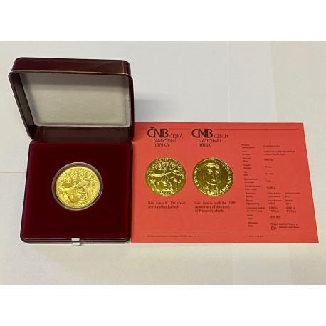 Zlatá mince Kněžna Ludmila STANDARD