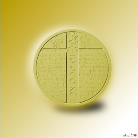 Zlatá mince Jan Hus, Standard