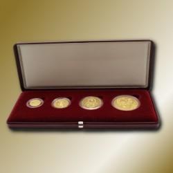 Sada 4 zlatých mincí KORUNA ČESKÁ 1995, STANDARD
