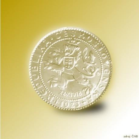 Zlatý dukát Šejnost s certifikátem