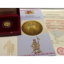 JUBILEJNÍ Zlatý dukát Šejnost s certifikátem