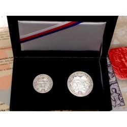 Sada Oživenie Kremnického baníctva 1934 malá,R16, velká R16