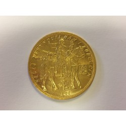 Zlatá mince Svatováclavský 10 Dukát 1934 sbírkový stav !!