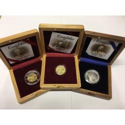 Sada replik vzácných mincí z Rakouska-Uherska