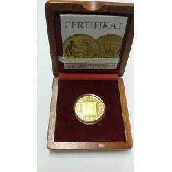 Zlatá mince - 10 Kč 1933 PROOF