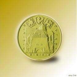 Zlatá pamětní mince - Hrad Zvíkov 5000Kč Proof