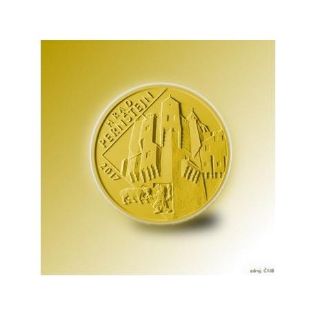 Zlatá pamětní mince - Hrad Pernštejn STANDARD předplatné