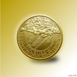 Zlatá mince 2500 Kč Klementinum v Praze 2006 Standard_
