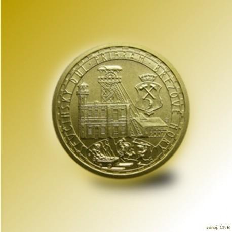 Zlatá mince 2500 Kč Ševčínský důl Příbram 2007 Standard_