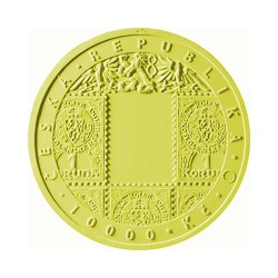 Zlatá mince Vznik Československé měny Proof + etuje !!