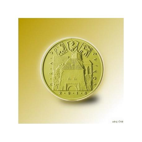 Zlatá pamětní mince - Hrad Švihov 5000Kč