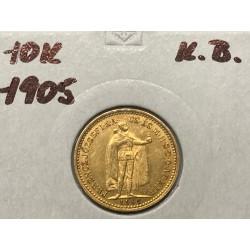 10 koruna 1905 K.B.