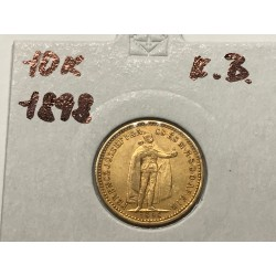 10 koruna 1898 K.B.
