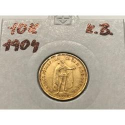 10 koruna 1904 K.B.
