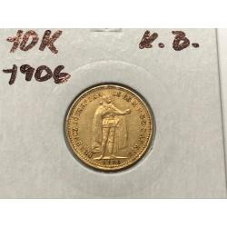 10 koruna 1906 K.B.