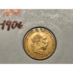 10 koruna 1906 - B.Z.