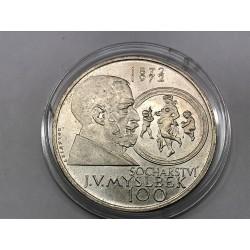 100 Kčs 1972 Myslbek, zkušební nevydaná !!