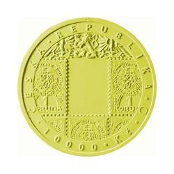 Zlatá mince Vznik Československa 100 let Standard
