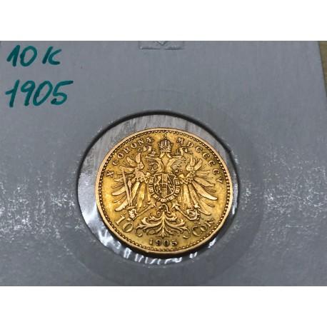 10 koruna 1905 - B.Z.