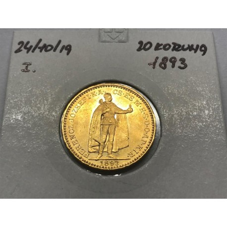 20 koruna 1893 - KB