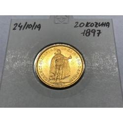 20 koruna 1897 - KB