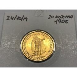 20 koruna 1905 - KB