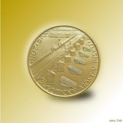 Zlatá mince 5000 Kč Gotický most v Písku 2011 Proof
