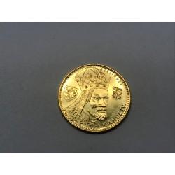 Zlatá mince - Dukát Karel IV 1982 ražební lesk, etuje