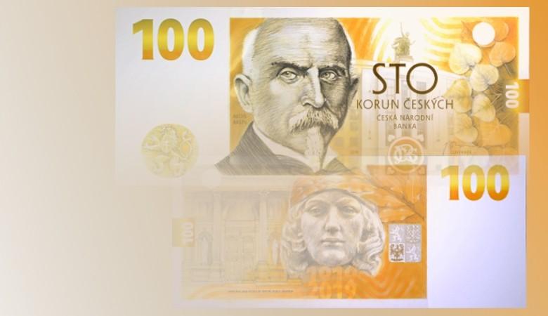 Bankovka 100 Kč vzor 2019